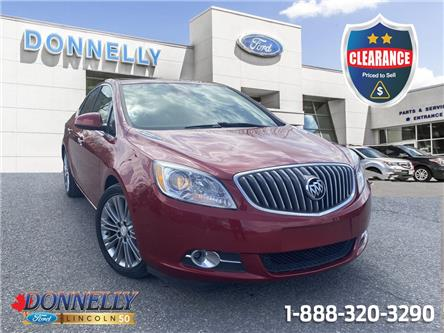 2014 Buick Verano Leather Package (Stk: CLDU6698LA) in Ottawa - Image 1 of 25