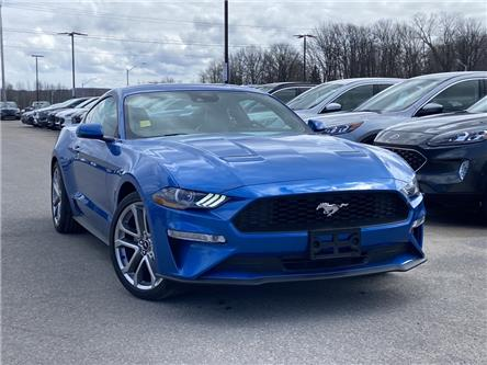 2021 Ford Mustang EcoBoost Premium (Stk: 021MU7) in Midland - Image 1 of 12