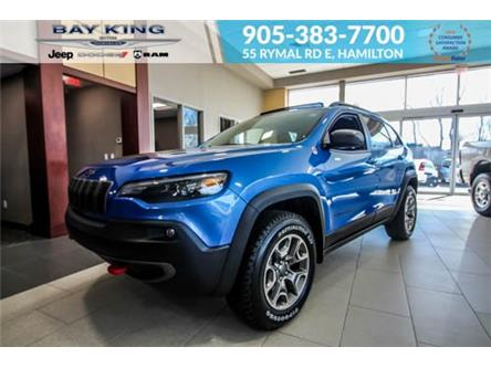 2021 Jeep Cherokee Trailhawk (Stk: 46978721) in Hamilton - Image 1 of 27