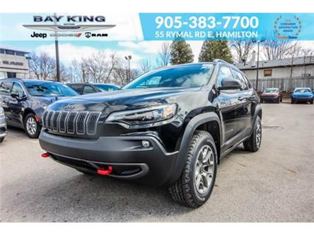 2021 Jeep Cherokee Trailhawk (Stk: 46978716) in Hamilton - Image 1 of 30