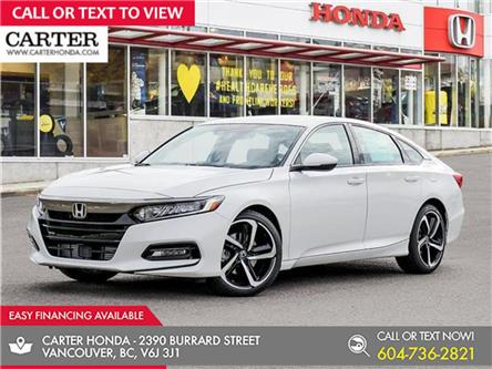 2021 Honda Accord Sport 1.5T (Stk: 6M12910) in Vancouver - Image 1 of 23