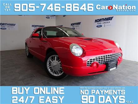 2002 Ford Thunderbird HARD TOP CONVERTIBLE | V8 | LEATHER | VERY RARE! (Stk: P6764) in Brantford - Image 1 of 22