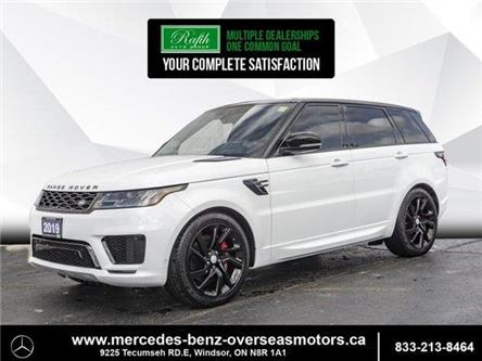 2019 Land Rover Range Rover Sport Supercharged Dynamic (Stk: PM7995) in Windsor - Image 1 of 20