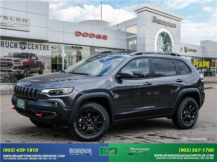 2021 Jeep Cherokee Trailhawk (Stk: 21052A) in Brampton - Image 1 of 30