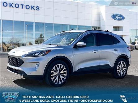 2020 Ford Escape Titanium (Stk: B84096) in Okotoks - Image 1 of 25