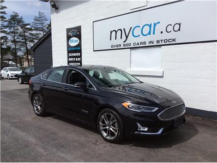 2019 Ford Fusion Hybrid Titanium (Stk: 210316) in Ottawa - Image 1 of 22