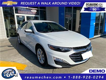 2021 Chevrolet Malibu LT (Stk: 21-0192) in LaSalle - Image 1 of 6