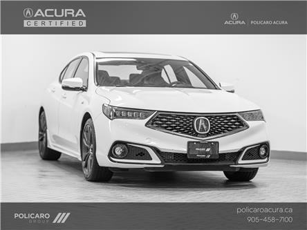 2019 Acura TLX Tech A-Spec (Stk: 801616T) in Brampton - Image 1 of 18