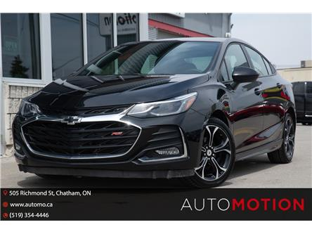 2019 Chevrolet Cruze LT (Stk: 21436) in Chatham - Image 1 of 21