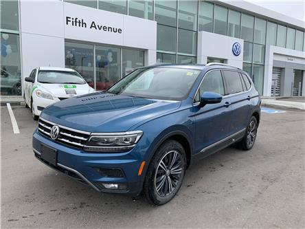 2018 Volkswagen Tiguan Highline (Stk: 21181A) in Calgary - Image 1 of 17