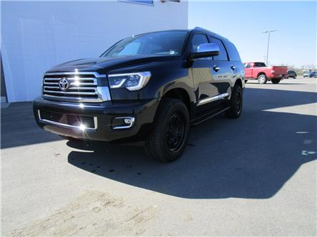 2021 Toyota Sequoia Platinum (Stk: 219093) in Moose Jaw - Image 1 of 28