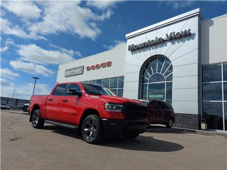 2021 RAM 1500 Big Horn (Stk: AM079) in Olds - Image 1 of 26