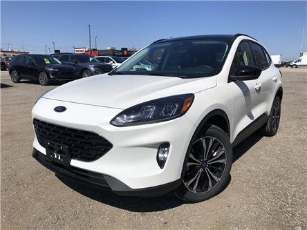 2021 Ford Escape SEL (Stk: ES21390) in Barrie - Image 1 of 22