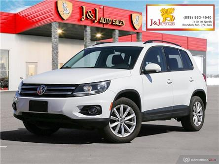 2017 Volkswagen Tiguan Wolfsburg Edition (Stk: J21029) in Brandon - Image 1 of 27