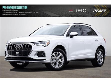 2021 Audi Q3 45 Komfort (Stk: T18878A) in Vaughan - Image 1 of 22