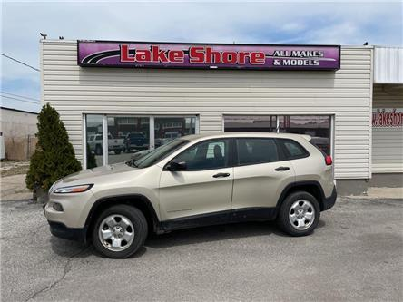 2014 Jeep Cherokee Sport (Stk: K9612) in Tilbury - Image 1 of 15