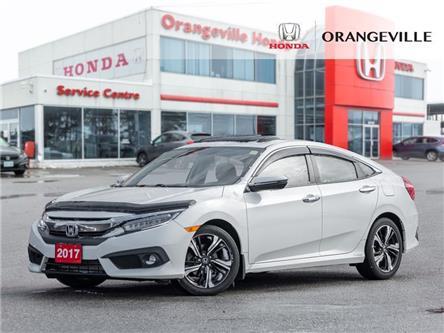 2017 Honda Civic Touring (Stk: H20000A) in Orangeville - Image 1 of 24
