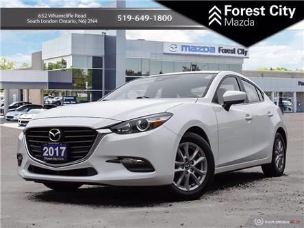 2017 Mazda Mazda3 GS (Stk: MW0177) in Sudbury - Image 1 of 27