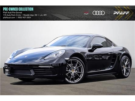 2019 Porsche 718 Cayman Base (Stk: C8318) in Woodbridge - Image 1 of 22