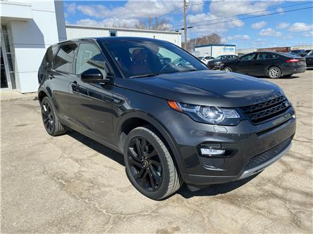 2017 Land Rover Discovery Sport HSE LUXURY (Stk: 21U110A) in Wilkie - Image 1 of 24
