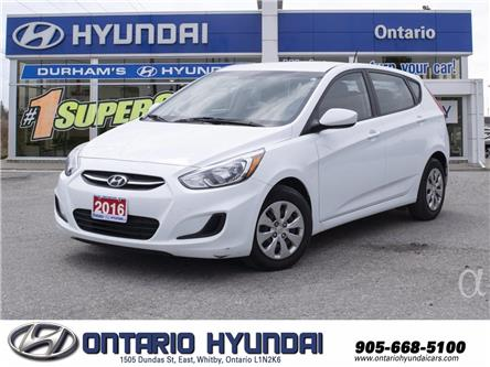 2016 Hyundai Accent SE (Stk: 55774K) in Whitby - Image 1 of 15