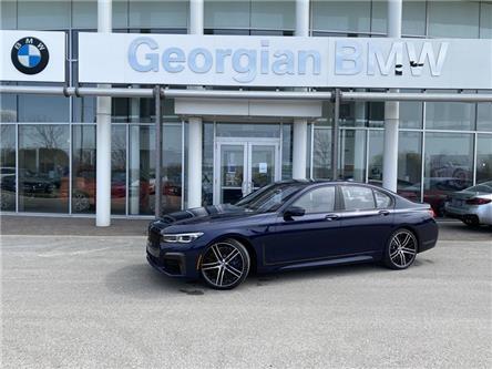 2021 BMW 750i xDrive (Stk: B21154) in Barrie - Image 1 of 18