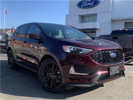 2021 Ford Edge ST Line (Stk: 021098) in Parry Sound - Image 1 of 19