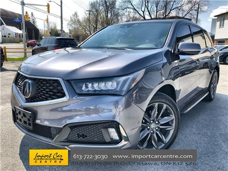 2019 Acura MDX A-Spec (Stk: 805108) in Ottawa - Image 1 of 27