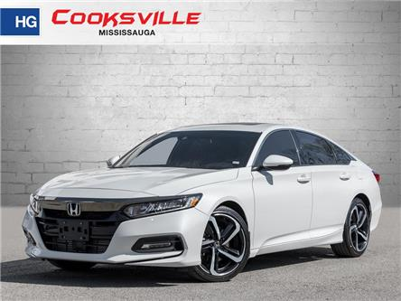 2019 Honda Accord Sport 2.0T (Stk: 8485P) in Mississauga - Image 1 of 18