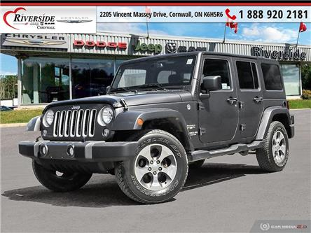 2017 Jeep Wrangler Unlimited Sahara (Stk: N21041A) in Cornwall - Image 1 of 27