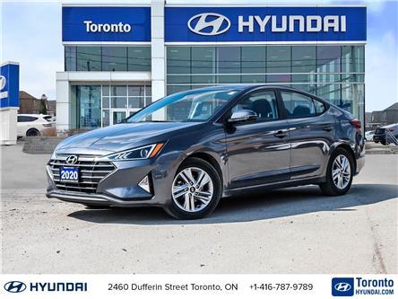2020 Hyundai Elantra Preferred w/Sun & Safety Package (Stk: UH07078) in Toronto - Image 1 of 16