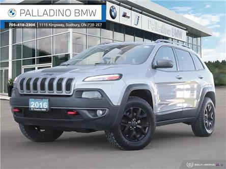 2016 Jeep Cherokee Trailhawk (Stk: 0120A) in Sudbury - Image 1 of 39