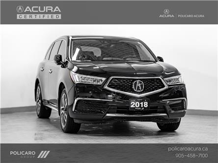 2018 Acura MDX Technology Package (Stk: 800885P) in Brampton - Image 1 of 30