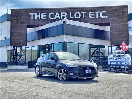 2013 Hyundai Veloster Turbo (Stk: 21086) in Sudbury - Image 1 of 22