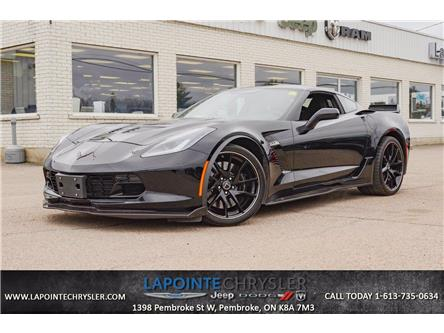 2018 Chevrolet Corvette Z06 (Stk: P3666) in Pembroke - Image 1 of 21