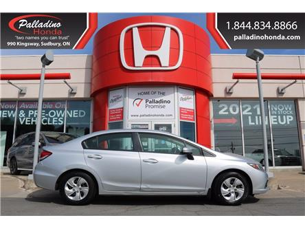 2014 Honda Civic LX (Stk: 23197A) in Sudbury - Image 1 of 27