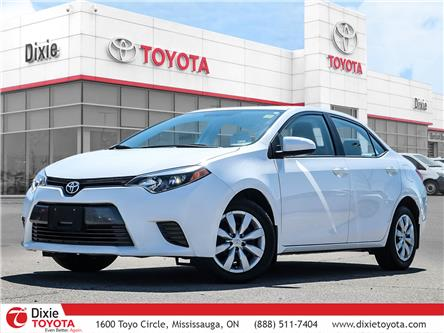 2016 Toyota Corolla LE (Stk: D210465A) in Mississauga - Image 1 of 28