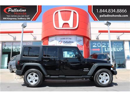 2016 Jeep Wrangler Unlimited Sport (Stk: BC0150) in Greater Sudbury - Image 1 of 30
