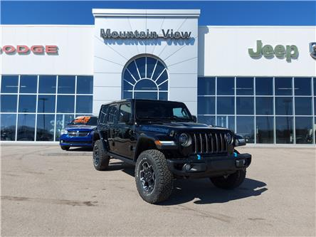 2021 Jeep Wrangler 4xe (PHEV) Rubicon (Stk: AM075) in Olds - Image 1 of 25
