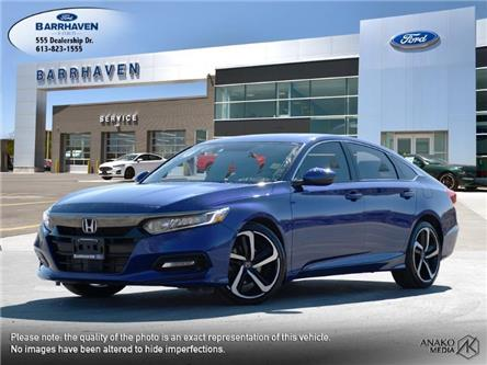 2018 Honda Accord Sport 2.0T (Stk: M9298) in Barrhaven - Image 1 of 28