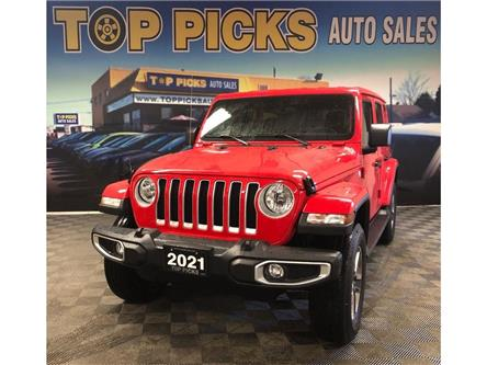 2021 Jeep Wrangler Unlimited Sahara (Stk: 622359) in NORTH BAY - Image 1 of 29