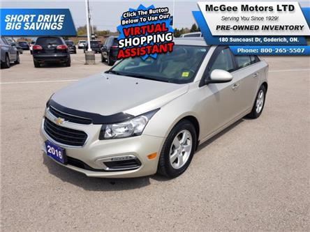 2016 Chevrolet Cruze Limited 2LT (Stk: 170190) in Goderich - Image 1 of 27
