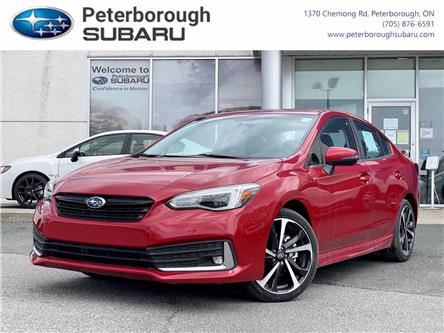 2021 Subaru Impreza Sport-tech (Stk: S4555) in Peterborough - Image 1 of 30