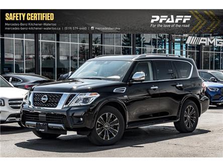 2019 Nissan Armada Platinum (Stk: K4308A) in Kitchener - Image 1 of 22