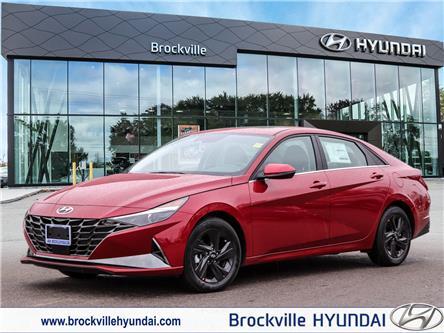 2021 Hyundai Elantra HEV Ultimate (Stk: R21190) in Brockville - Image 1 of 27