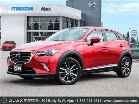 2016 Mazda CX-3 GT (Stk: 21-1377A) in Ajax - Image 1 of 29