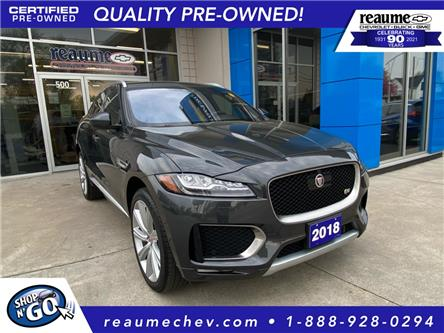 2018 Jaguar F-PACE S (Stk: P-4575) in LaSalle - Image 1 of 27
