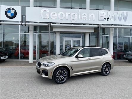 2021 BMW X3 xDrive30i (Stk: B21134) in Barrie - Image 1 of 16