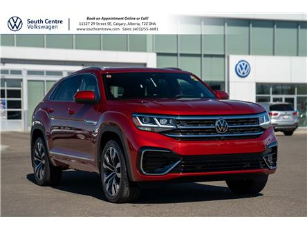 2021 Volkswagen Atlas Cross Sport 3.6 FSI Execline (Stk: 10259) in Calgary - Image 1 of 48