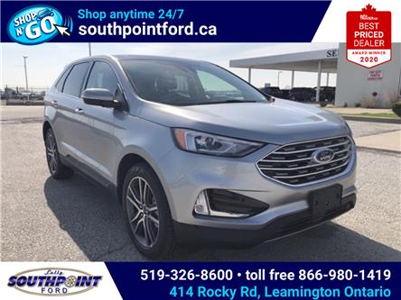 2021 Ford Edge Titanium (Stk: SEG6892) in Leamington - Image 1 of 25